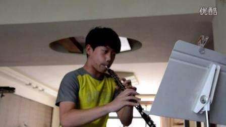 卢福特24首双簧管练习曲 第二首 三连音