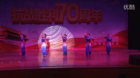 曲阳县嘉禾韵姿舞蹈队表演《红歌连跳》