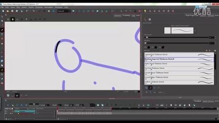ToonBoomHarmony使用技巧绘画工具的介绍系列之四笔刷工具和铅笔工具