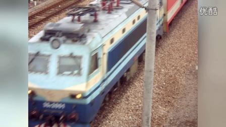 火车视频,结合了恒丰路桥,中山北路桥,上海南站,莘庄天桥(铁丝乔礼葆制作)