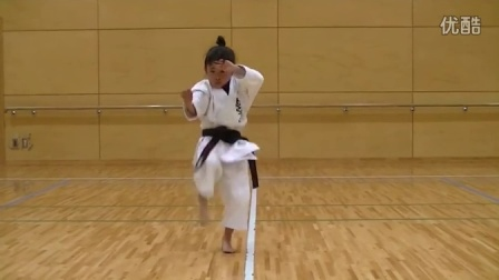 7 Year Old Girl Karate Master  Incredible Kankudai Demo