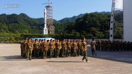 2015年槐堂初中军训702班之番号展示