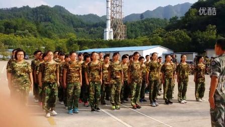 2015年槐堂初中军训702班