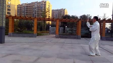 张玉革洪传陈式太极拳二路64式炮捶阳谷盛世名门广场QQ群339384149