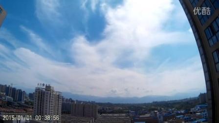 sj7000拍摄云彩变化150912