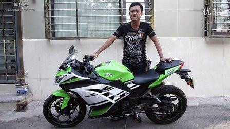 【我车我说】川崎小忍者250摩托车第三期_摩托威