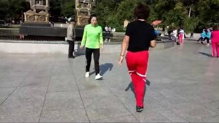 鬼步曳步舞二十和十八步对跳