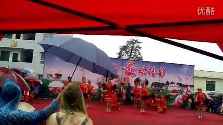 大坝桥村文体协会参加《和谐南阳舞动精彩》广场舞比赛获三等奖