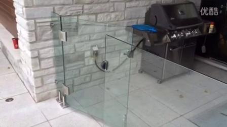 BESTKO 瑞高太极芯泳池闸玻璃夹