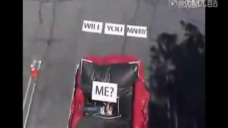 史上最整人的求婚方式#