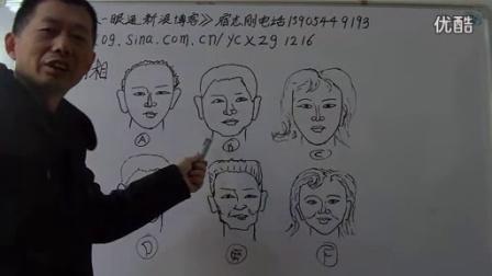 丁财风水一眼通讲座风水面相(7)_标清