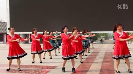 长青舞蹈队广场舞     山花朵朵开