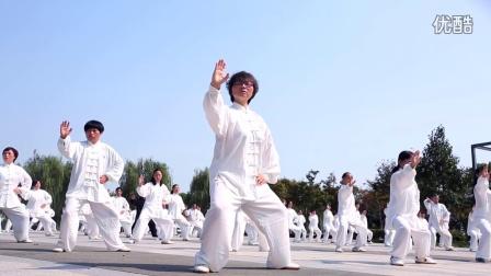宜兴陈家沟陈炳太极院百万人太极拳预演视频