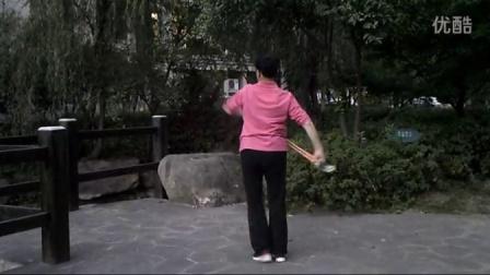 学跳持杖操  好男儿就是要当兵
