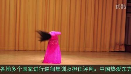 捷克东方舞大师Dalia 在新加坡表演的甩发舞