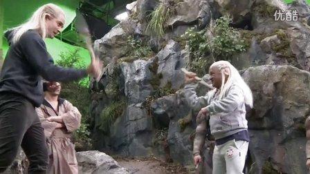 霍比特人3加长版花絮:In the Dungeons of the Necromancer,Orlando部分剪辑