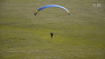 佘亮呼伦贝尔滑翔伞飞行