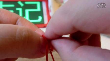 【夏末记手工坊】牦牛骨珠手绳-教程-手绳-DIY-编绳_
