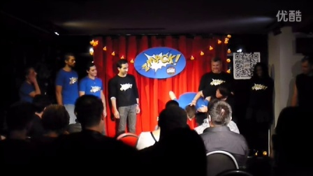 Zmack improv show opening and freeze tag