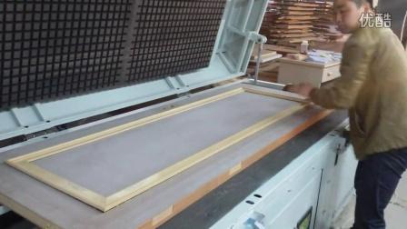 木工家具热熔胶机,家具木门上胶机,家具木门贴合热熔胶机