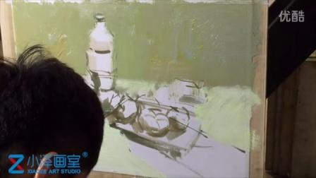水粉静物 2015111601 小泽画室 ms211 美术视频