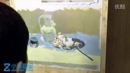 水粉静物 2015111614 小泽画室 ms211 美术视频