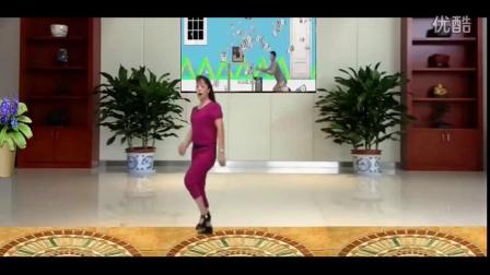 孝聪广场舞 踩踩踩 含背面分解教学_广场舞蹈视频大全广场舞教学