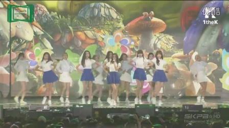 151107 151107 Melon Music Awards GFriend Glass Bead (유리구슬) + Me Gustas Tu cut