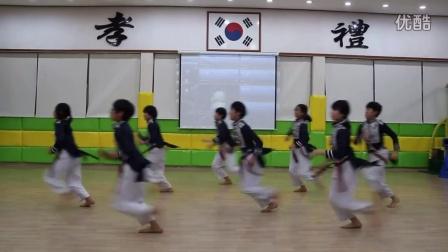 简单易学的跆拳舞 跆舞 BEST태권도시범단
