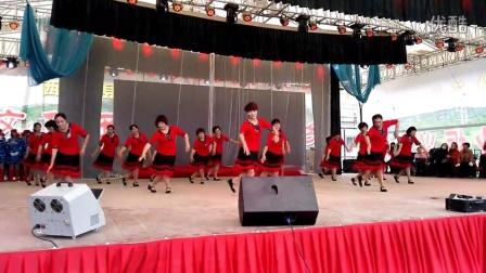 宁夏西吉《首届广场舞大赛》红艺广场舞队表演《吉祥藏历年》获一等奖