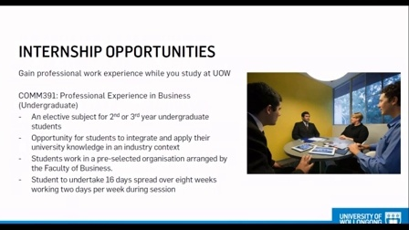 University of Wollongong Business Webinar