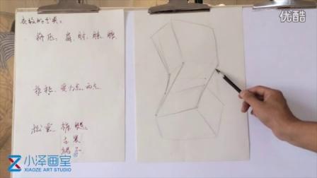 人物速写 2015111701 小泽画室 ms211 美术视频