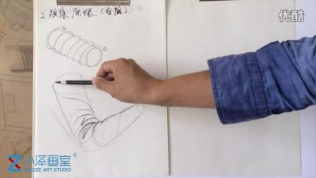 人物速写 2015111708 小泽画室 ms211 美术视频