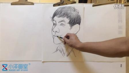 人物速写 2015111712 小泽画室 ms211 美术视频