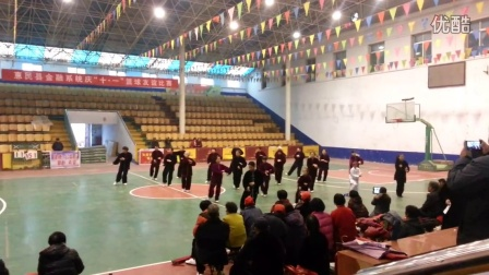体育中心42式太极拳演练