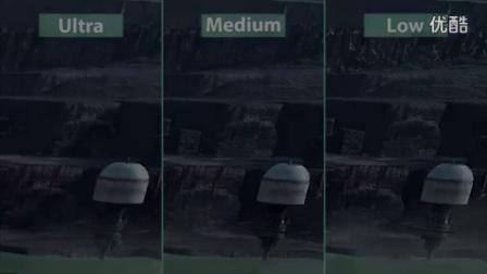 《星球大战-前线》 – PC 版低中高三挡画面对比_标清