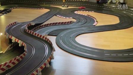Carrera轨道赛车-奥迪R8 vs 保时捷911