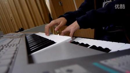 【雙排鍵電子琴】霧の境界線