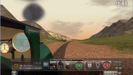 模拟火车 外国迷你火车