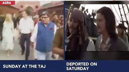 India Today报道Orlando Bloom的印度之行