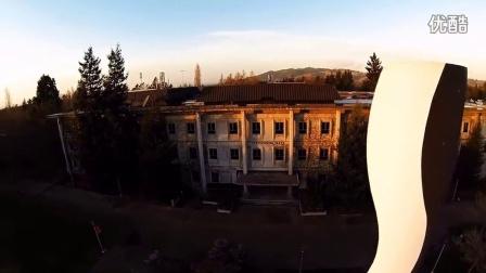 Sonoma State University Aerial Campus Tour 视频: 森諾瑪州立大學 语言学校