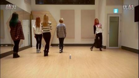 【orange】hot pink 分解慢动作镜面舞蹈视频