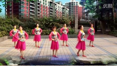 重庆江津舞媚娘健身队《粉红色的回忆》编舞:丝奇