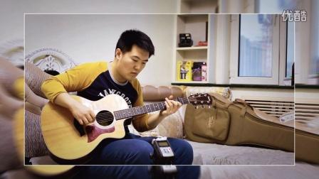 鸡西吉他:翻弹《flower》 鸡西玩乐吉他社