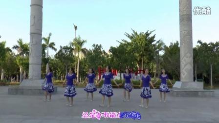 海南昌中绿坪广场舞《粉红色的回忆》编舞:丝奇