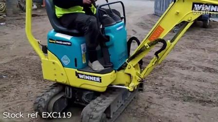 洋马Yanmar SV08挖掘机工作视频,迷你型挖机