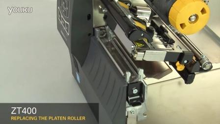 ZT400 胶辊的更换(英语无字幕)