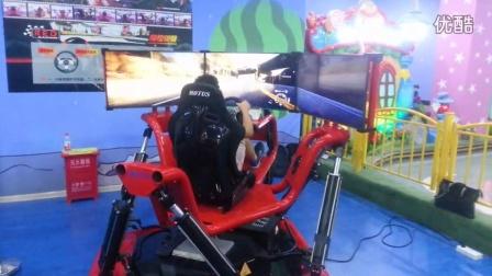穆特科技六自由度平台-RED红魔竞速模拟赛车,颠覆你想象!