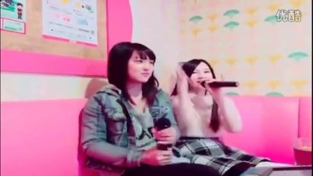 AKB48 大西桃香 山田菜々美 永野芹佳 3人で大阪で遊んだよ♪ 2015.12.19