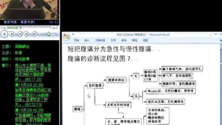 中医知识 执业医师考试笔试 实践综合